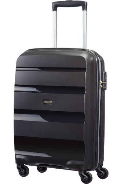 Vorderansicht American Tourister Bon Air Spinner Strict S 55 cm in Schwarz