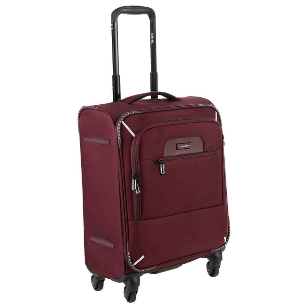 Vorderansicht Travelite Crosslite 4-Rad Boardtrolley S 53 cm