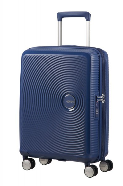 Vorderseite American Tourister Soundbox Spinner 55 cm