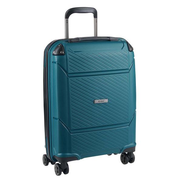 Vorderseite Rada PP6 4-Rollen-Trolley Handgepäck Koffer 55 cm