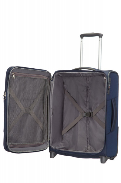 Samsonite Spark upright Tolley 55 cm Blau offen