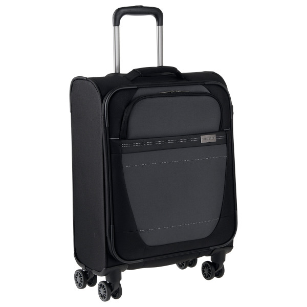 Vorderansicht Travelite Meteor 4-Rad Boardtrolley S 55 cm