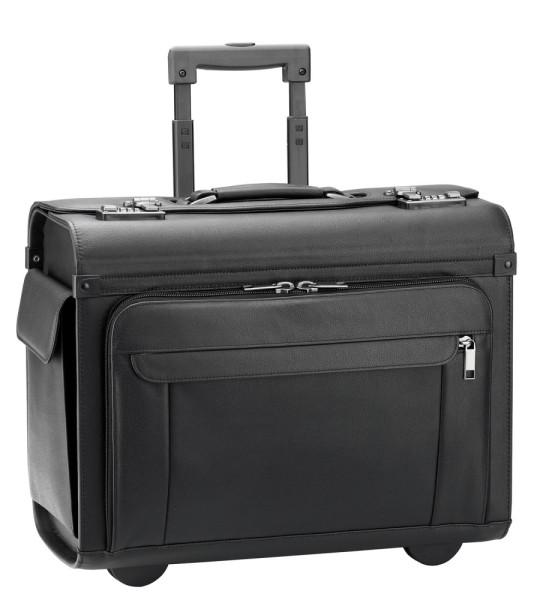 Vorderansicht D&N Business & Travel Pilotenkoffer-Trolley