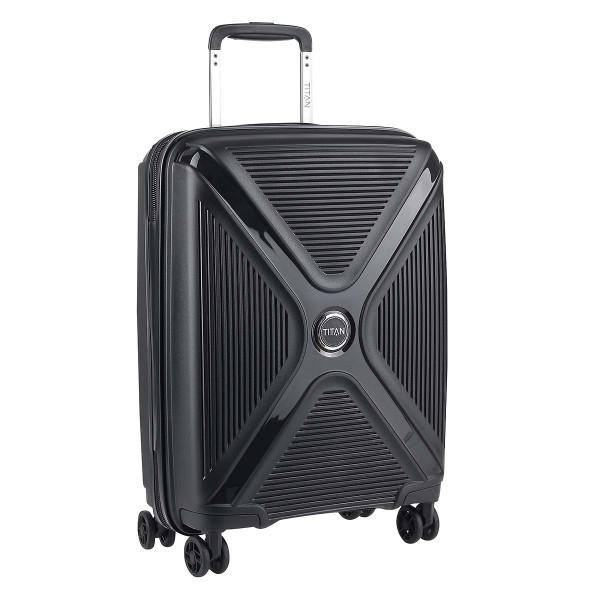 Vorderseite Titan PARADOXX 4 Rad Trolley S 55 cm