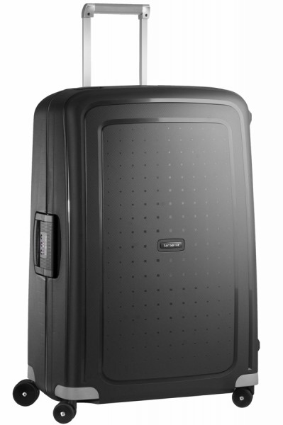 Vorderansicht Samsonite S´Cure Spinner Hartschalentrolley 75 cm